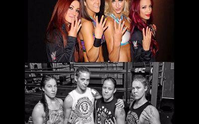 WWE Noticias Posible combate entre las four horsewomen