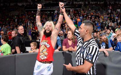 Enzo Amore ayer en 205 Live