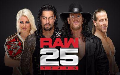 RAW 25 aniversario