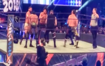 Smackdown dark match