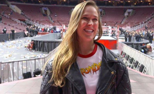 Ronda Rousey en Summerslam Ronda Rousey comenta sobre su debut en el Madison Square Garden