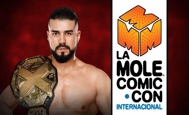 Andrade Cien Almas en la Mole Comic Con