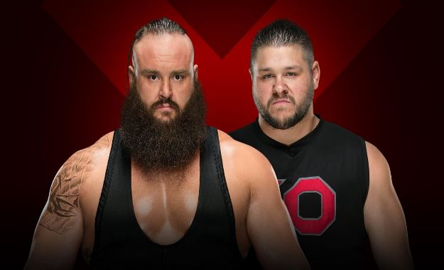Braun Strowman vs Kevin Owens