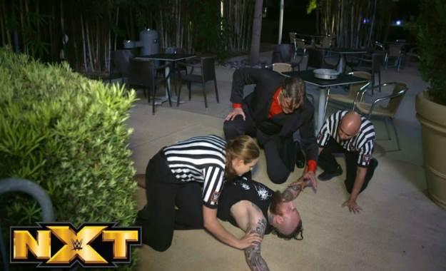 ¿Quién fue el luchador que atacó a Aleister Black?
