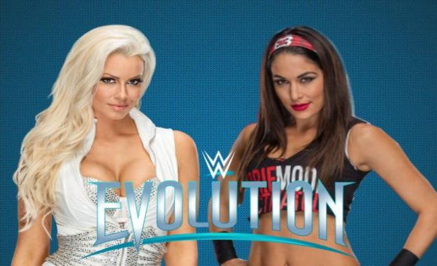 Evolution Brie Bella vs Maryse