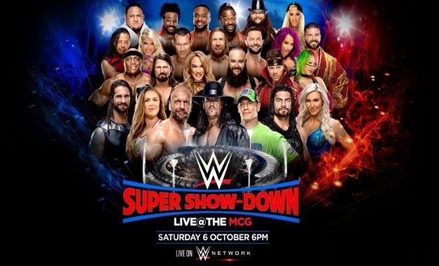 WWE planea cambiar varios campeonatos en el Super Show-Down
