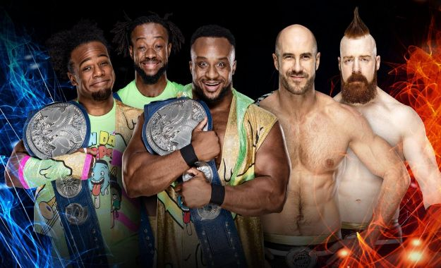 New Day vs The Bar