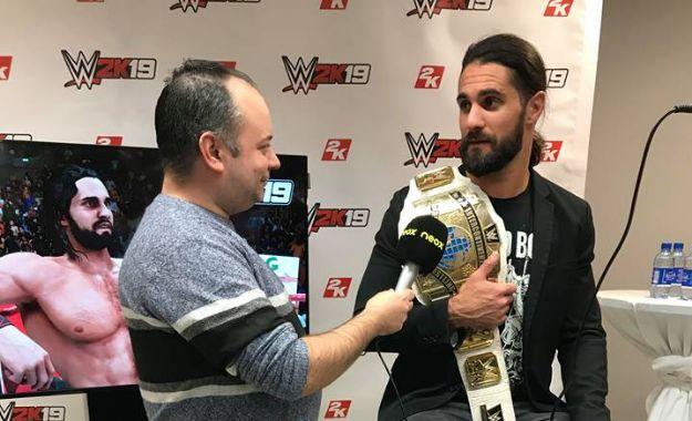 Entrevista Seth Rollins