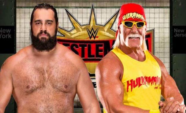 Hulk Hogan vs Rusev