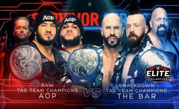AOP vs The Bar Survivor Series
