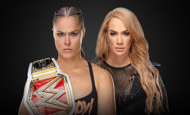 Combate por el título femenino de RAW en TLC