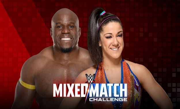 Apollo Crews mixed match challenge