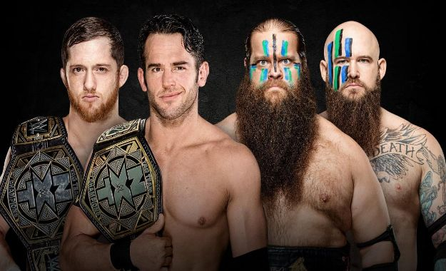 NXT Takeover Phoenix Tag Team Match