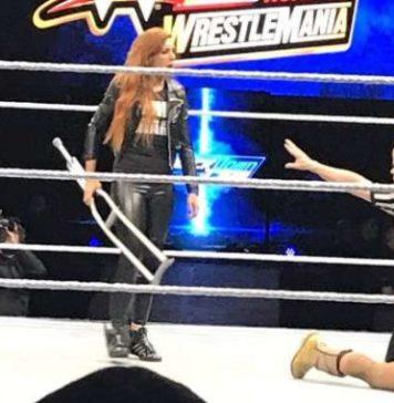 Becky Lynch la lia