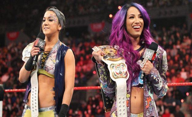 Bayley y Sasha Banks WWE