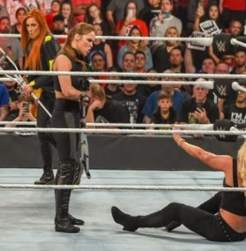 Ronda Rousey y Becky Lynch