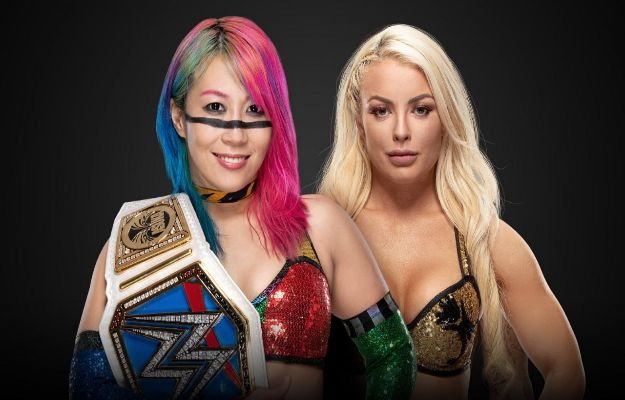 Asuka vs Mandy Rose en WWE Fastlane
