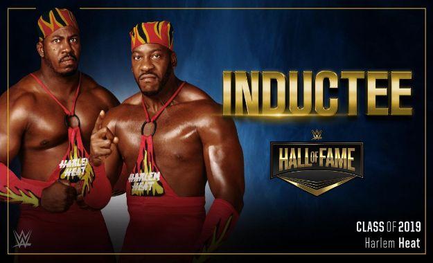 Harlem Heat WWE Hall of Fame