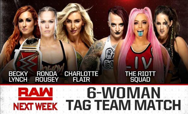 WWE RAW próxima semana