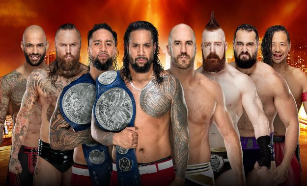 Titulo de parejas de Smackdown Live en Wrestlemania