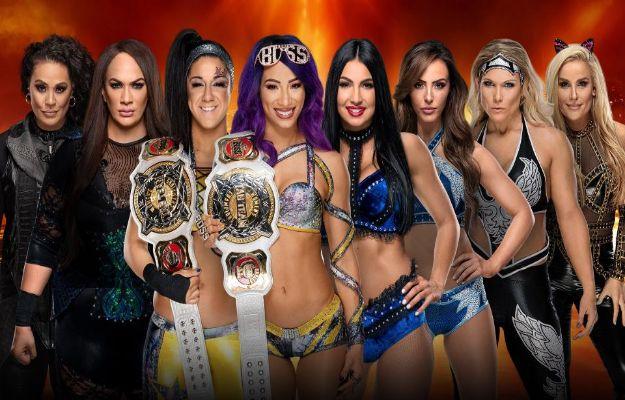 Lucha de parejas femenina de Wrestlemania 35