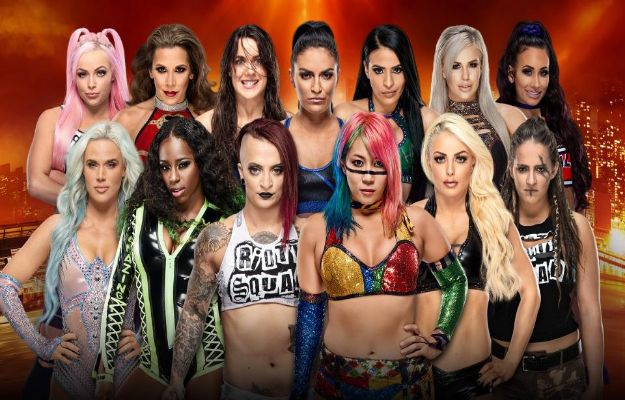 Women Battle Royal Wrestlemania