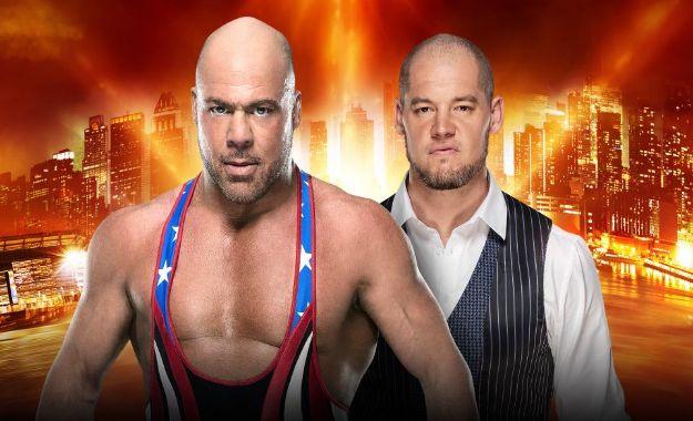 Baron Corbin vs Kurt Angle Wrestlemania 35