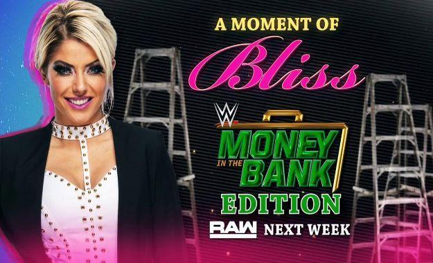 Alexa Bliss money in the bank