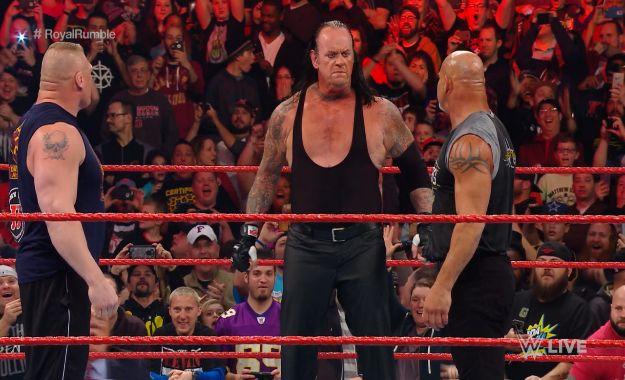 WWE Goldberg, Lesnar, The Undertaker