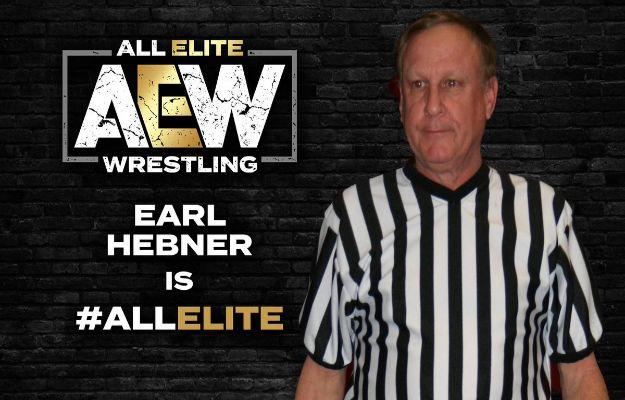 AEW Earl Hebner