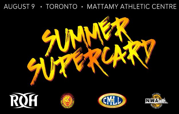 Ring of Honor Summer Supercard