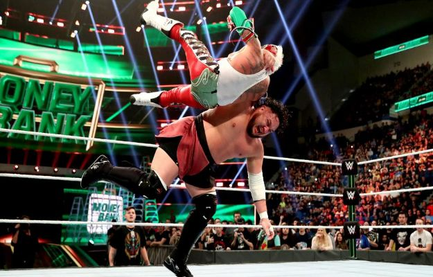 Rey Mysterio y Samoa Joe