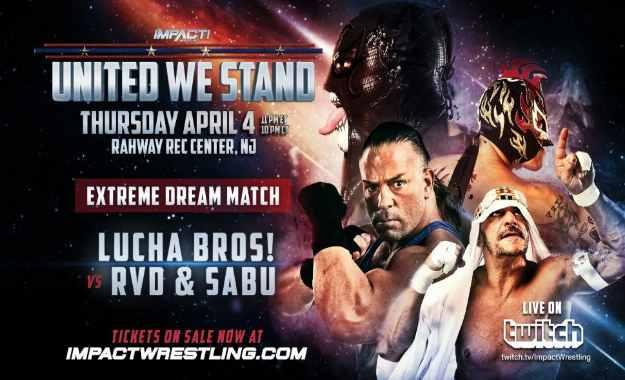 RVD firma con Impact Wrestling
