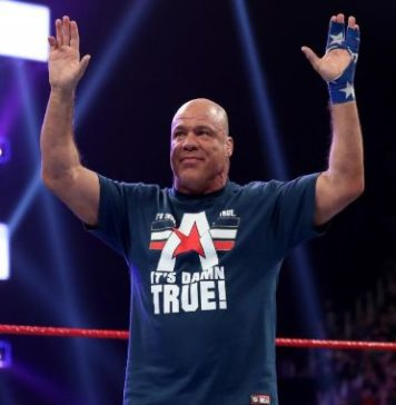 Kurt Angle retiro