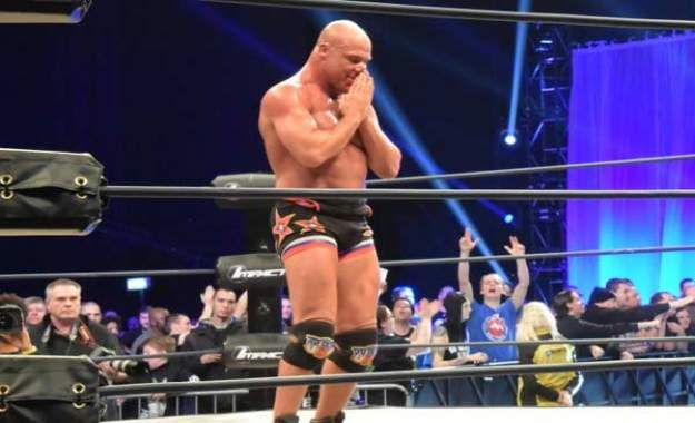 Kurt Angle odiaba su tema de entrada en WWE ECW