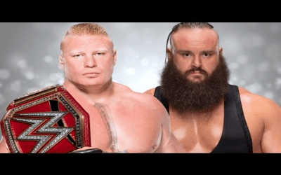 WWE No Mercy Lesnar vs Strowman