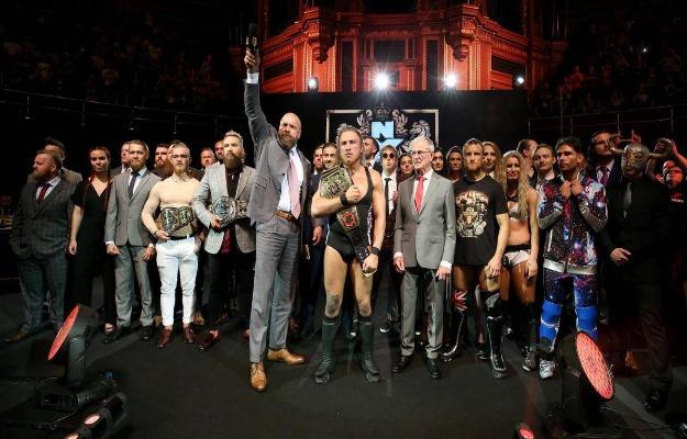 luchadores NXT UK