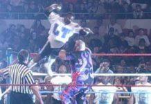 WrestleMania XI: Lawrence Taylor vs. Bam Bam Bigelow