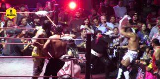 L. A. Park, Mecha Wolf y Bestia 666 vs Simon Gotch, Josef Samael e Ikuro Kwon - The Crash