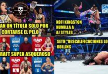 WWE Draft 2019 SmackDown - Análisis picante de Warge