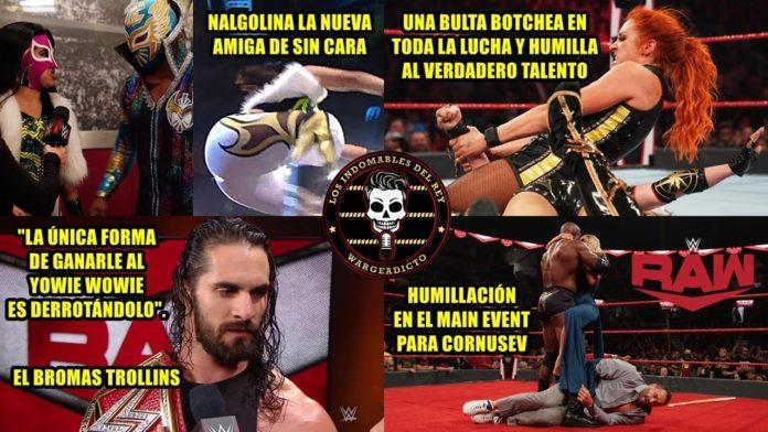 WWE RAW 28 de Octubre - Análisis picante por Warge