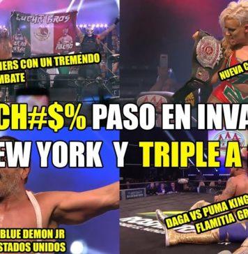 ¿Que pasó en Triple A Invading New York?