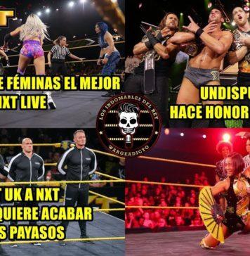 NXT Live Premiere 18 de Septiembre de 2019 - Análisis Picante por Warge
