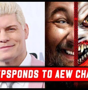 Cody responde a los cantos de AEW en Hell in a Cell