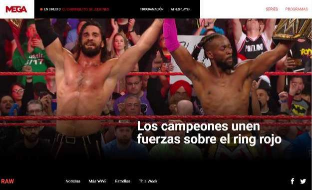 audiencias raw smackdown mega