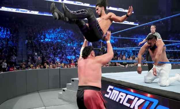 WWE quería a Mustafa Ali como un heel antiamericano