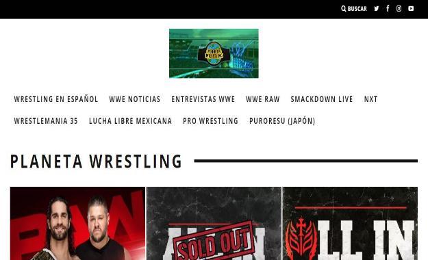 WWE se hace eco del trabajo profesional de Planeta Wrestling