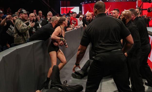 Ronda Rousey favor WWE