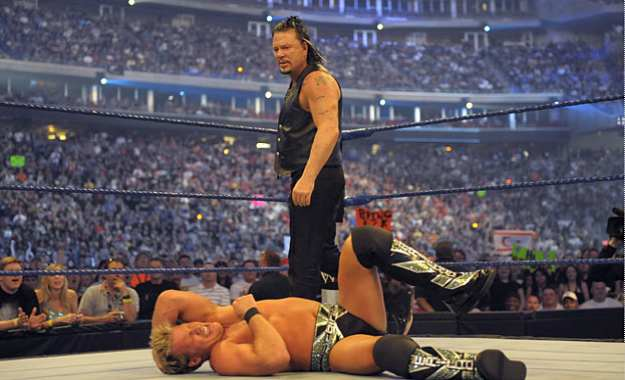Mickey Rourke wrestlemania 25