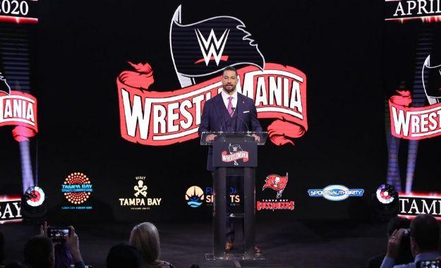 rueda de prensa de Wrestlemania 36